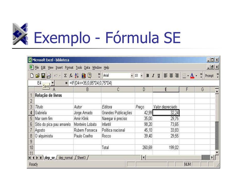 Exemplo - Fórmula SE