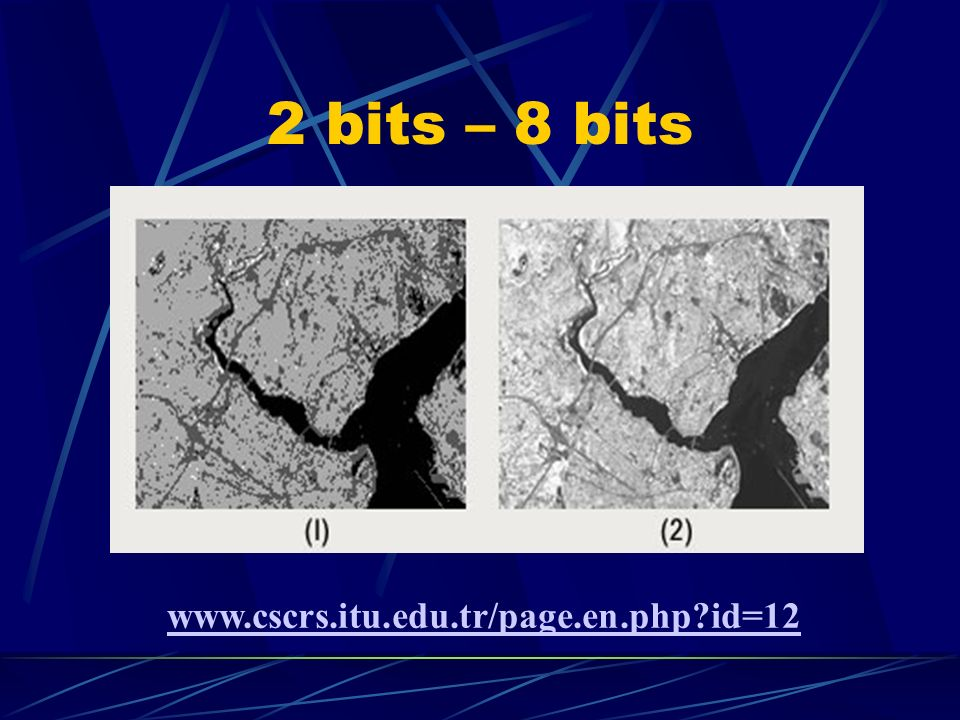 2 bits – 8 bits www.cscrs.itu.edu.tr/page.en.php id=12