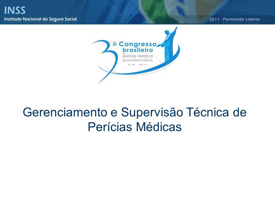 Gerenciamento e Supervisão Técnica de Perícias Médicas