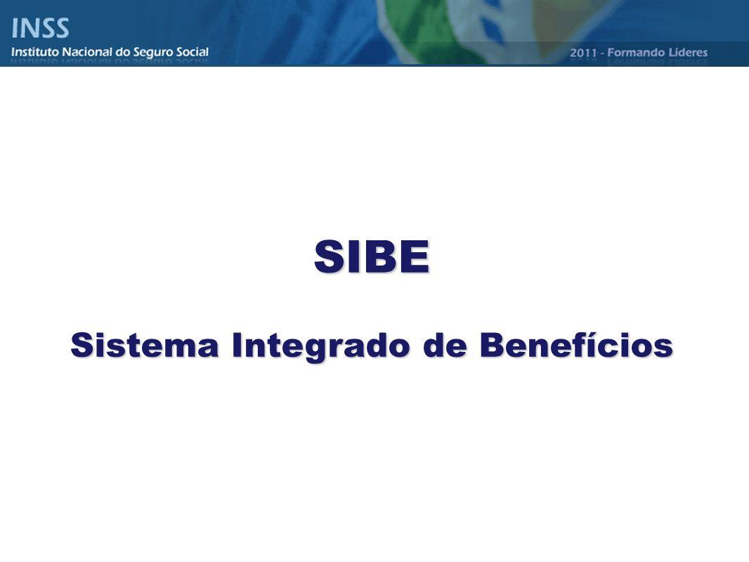 SIBE Sistema Integrado de Benefícios