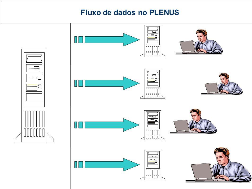 Fluxo de dados no PLENUS HOST