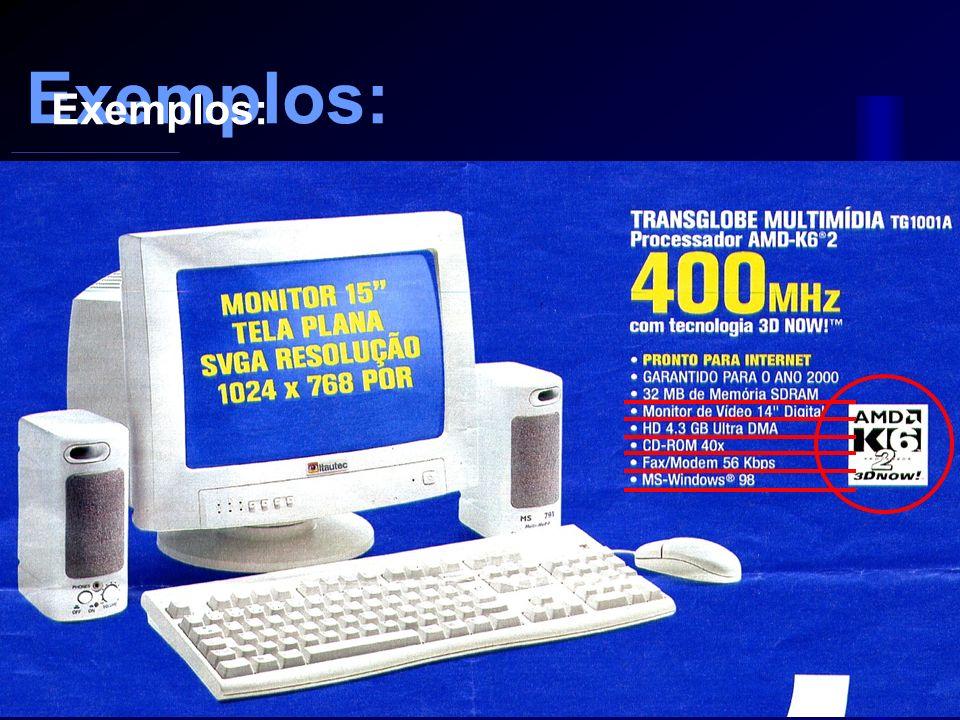 Sistema Operacional Sistema operacional: Windows 95, 98, 2000, XP Linuxs Unix Sistema Operacional Sistema Operacional