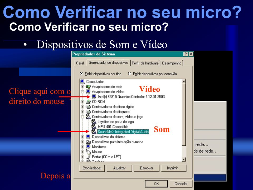 HD Como Verificar no seu micro.