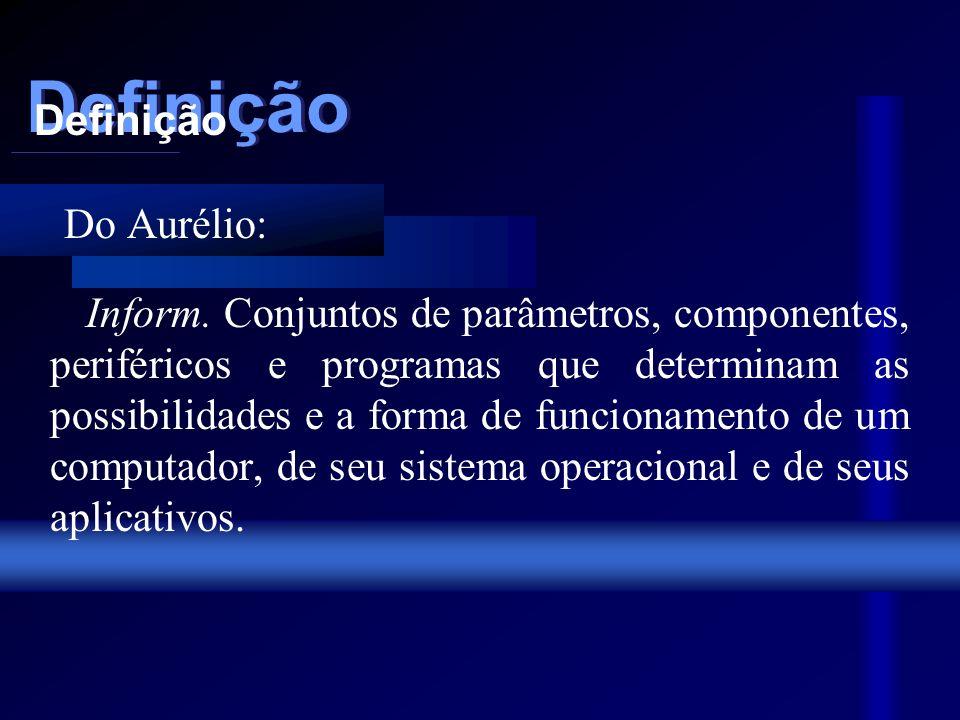 Configuração de Micros UNIVERSIDADE FEDERAL DE MINAS GERAIS Introdução à Informática