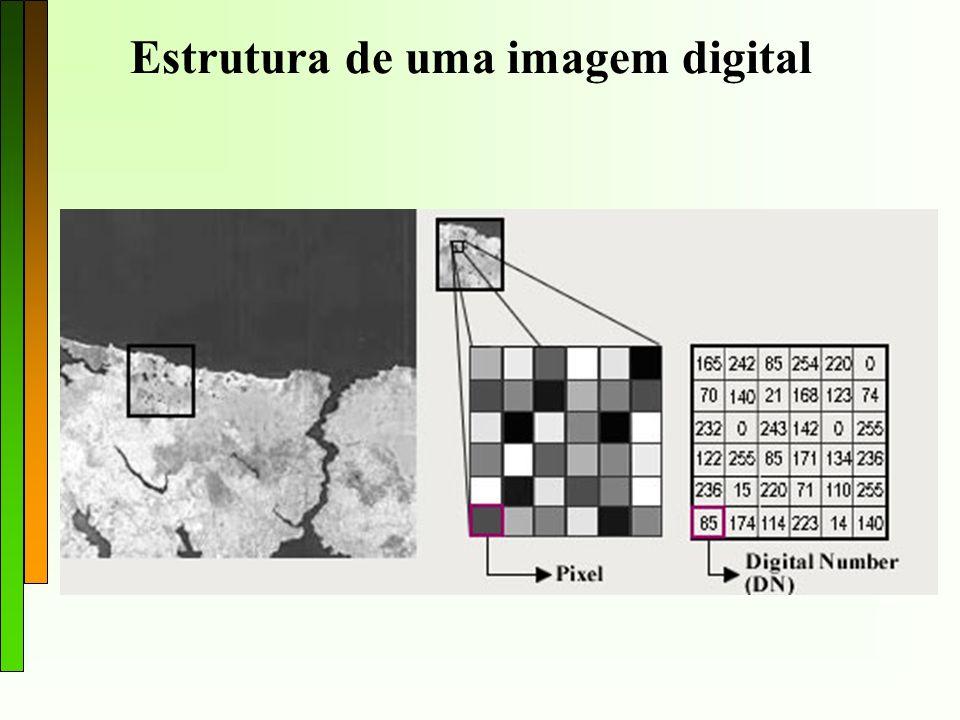 Facilitar a identificação e extração da informação contida nas imagens para posterior interpretação; Remover ou amenizar degradações e distorções que limitam a capacidade visual humana; Processar grande quantidade de dados Processamento digital de imagens: Funções