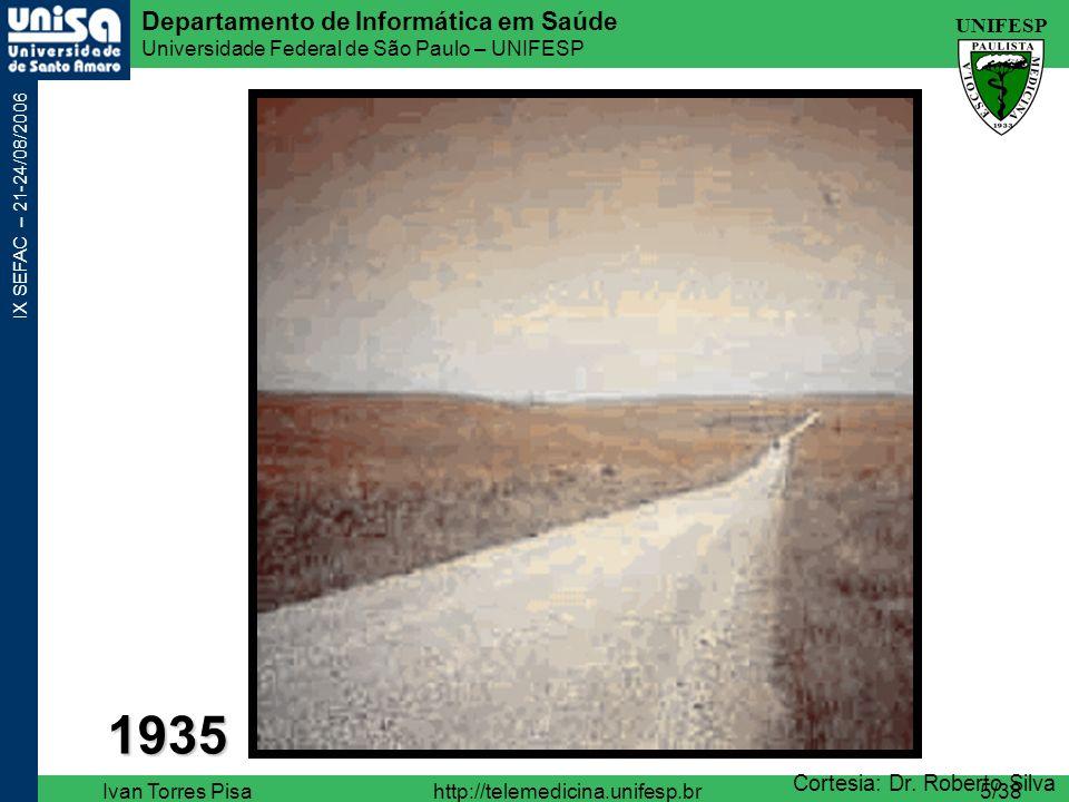 UNIFESP Departamento de Informática em Saúde Universidade Federal de São Paulo – UNIFESP IX SEFAC – 21-24/08/2006 Ivan Torres Pisahttp://telemedicina.unifesp.br16/38 Departamento de Informática em Saúde