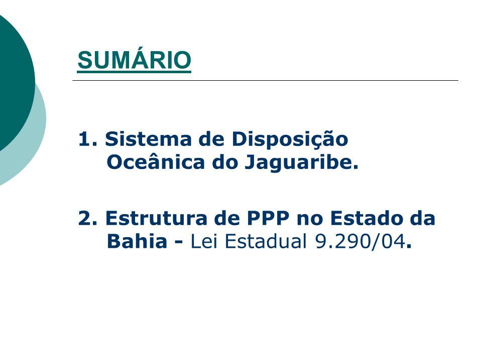 SUMÁRIO 1. Sistema de Disposição Oceânica do Jaguaribe.