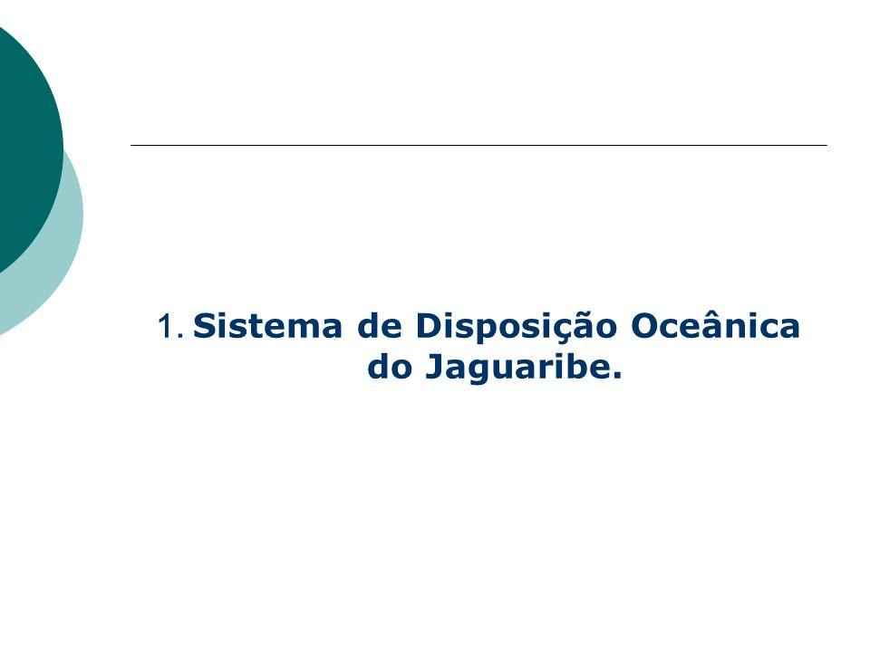 1. Sistema de Disposição Oceânica do Jaguaribe.