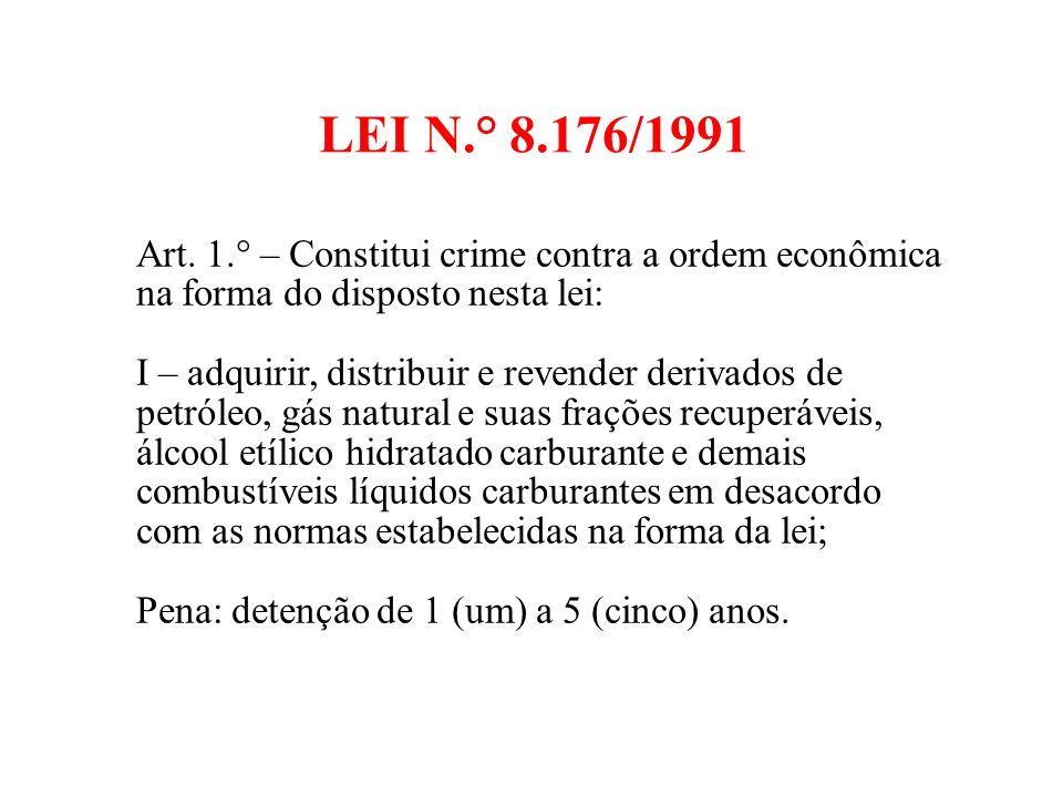 LEI N.° 8.176/1991 Art.