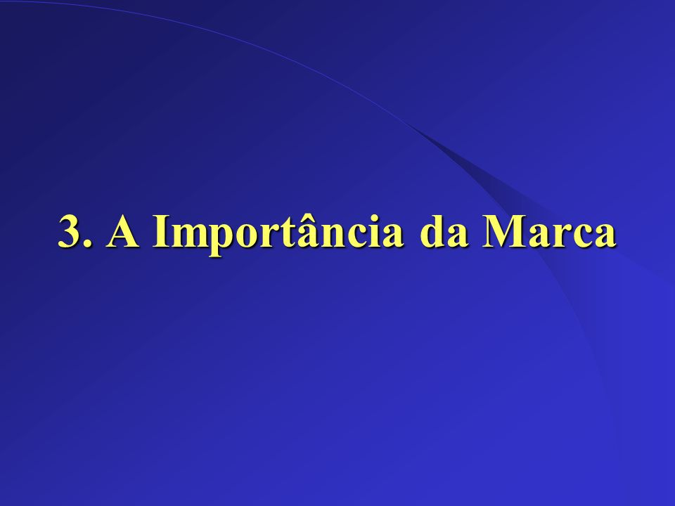 Dez/2002 3. A Importância da Marca