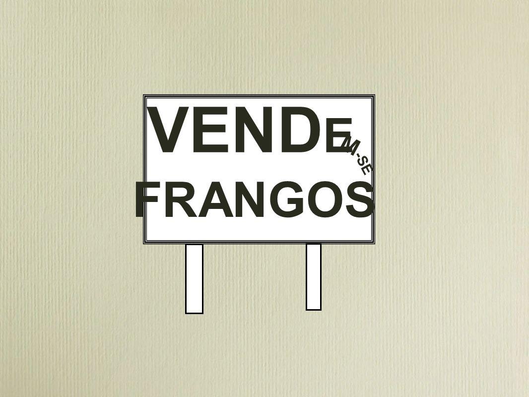 VEND E M -SE FRANGOS