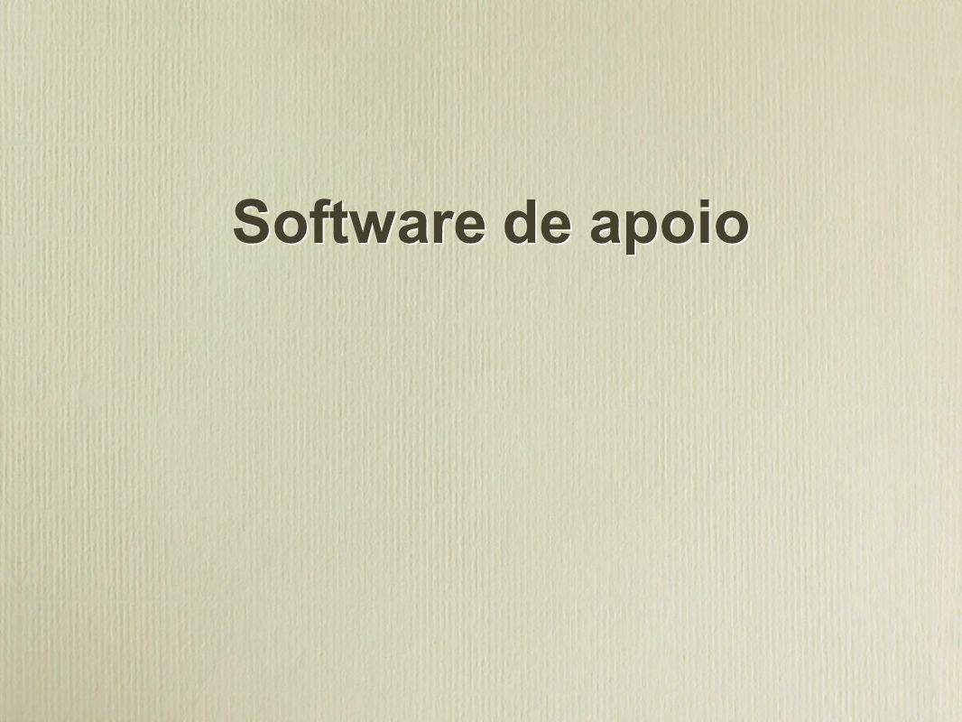 Software de apoio