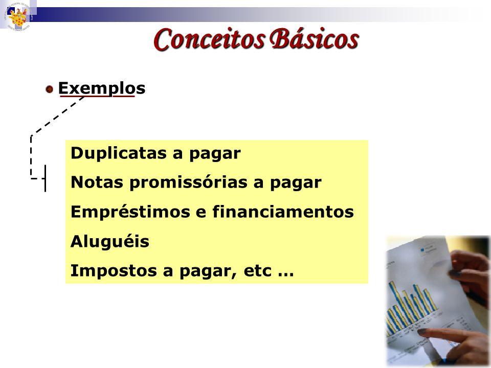 Segundo GILSON CHAGES, (2000) Obrigações são recursos de terceiros a disposição da empresa Obrigações Conceitos Básicos