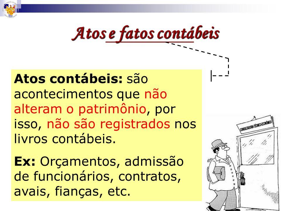 Escrituração Técnica contábil que consiste no registro, em livros próprios, através de contas contábeis, de todos os fatos contábeis resultantes da ge