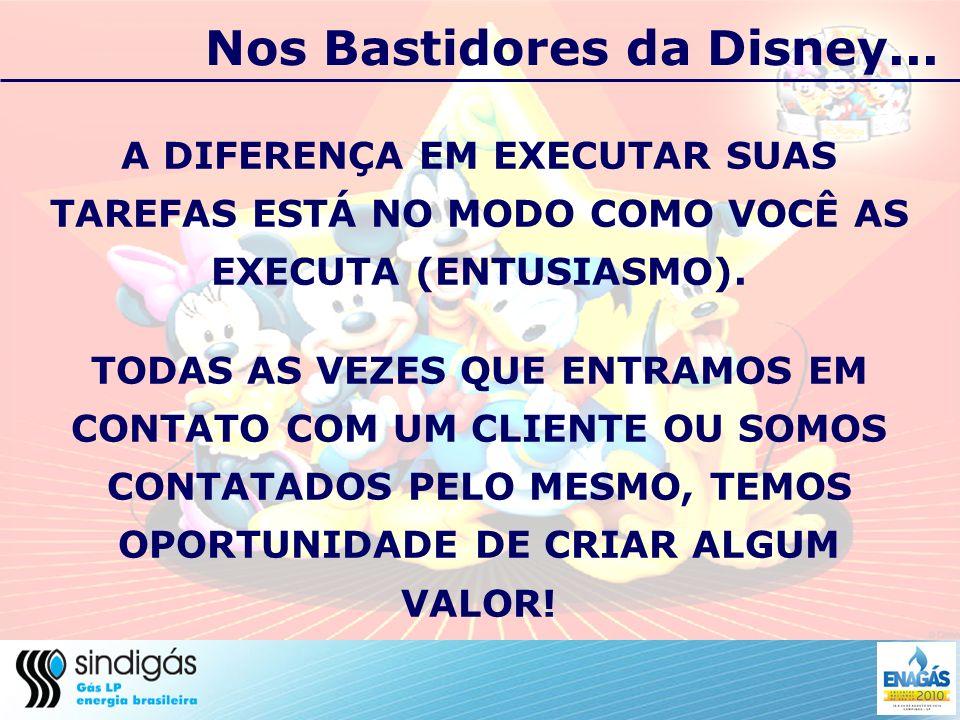 Nos Bastidores da Disney...SURPREENDA SEUS CLIENTES.