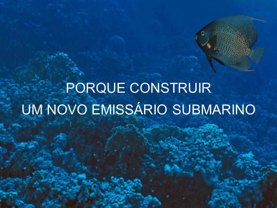 PORQUE CONSTRUIR UM NOVO EMISSÁRIO SUBMARINO
