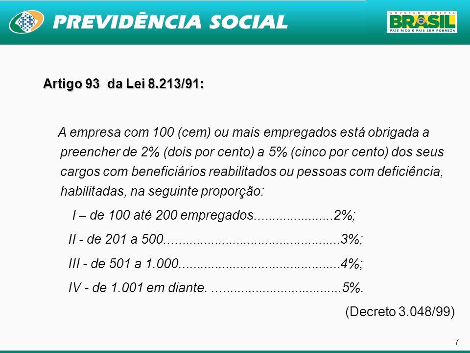 28 REVITALIZAÇÃO DA RP METAS Redução do percentual de aposentadorias por invalidez Redução do Tempo Total do Processo de Reabilitação RESULTADOS Inclusão Social Impacto Econômico Redução de fila da perícia médica