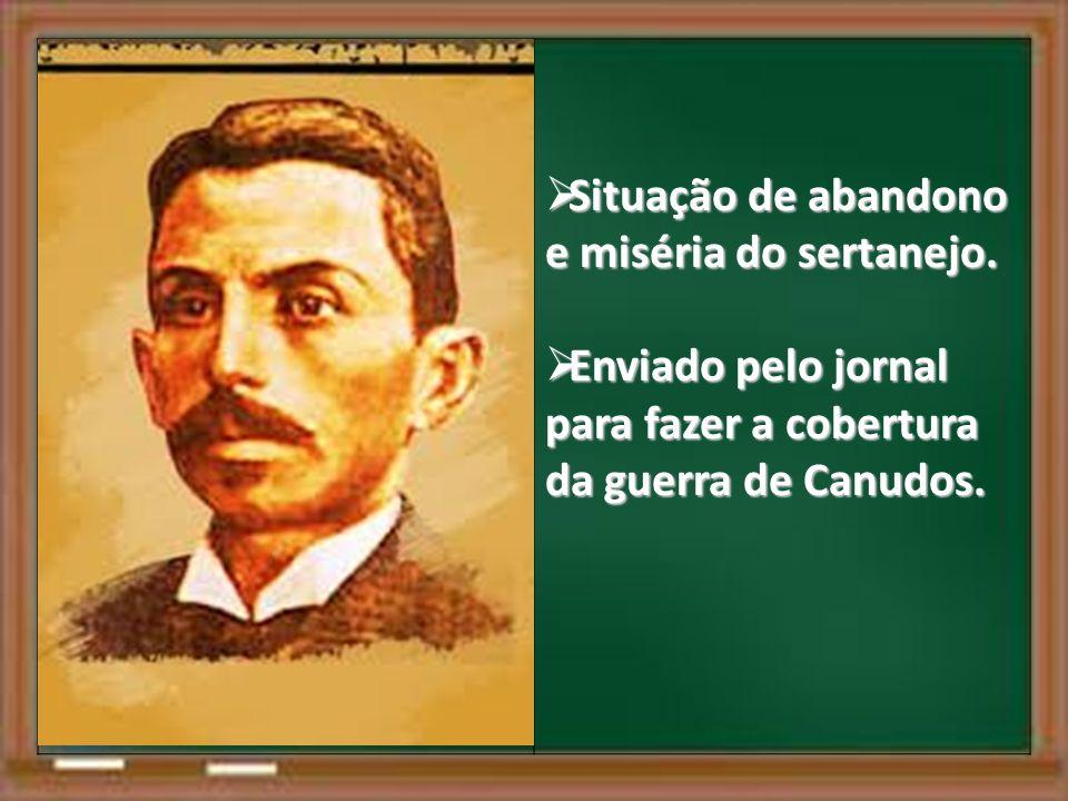 Situação de abandono e miséria do sertanejo.Situação de abandono e miséria do sertanejo.