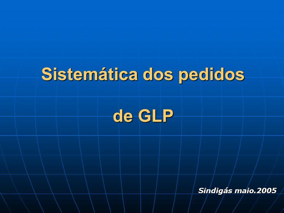 Sistemática dos pedidos de GLP Sindigás maio.2005
