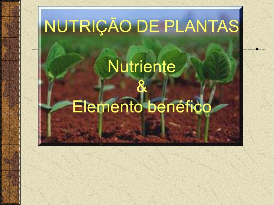 Outros elementos químicos de interesse na nutrição vegetal Si x DOENÇAS