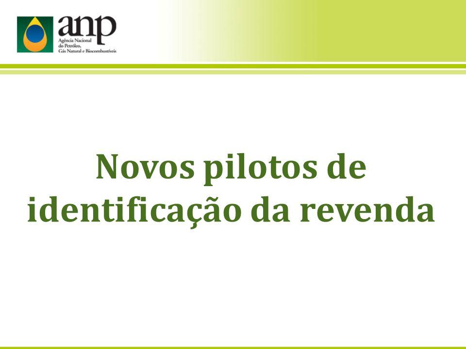 Novos pilotos de identificação da revenda