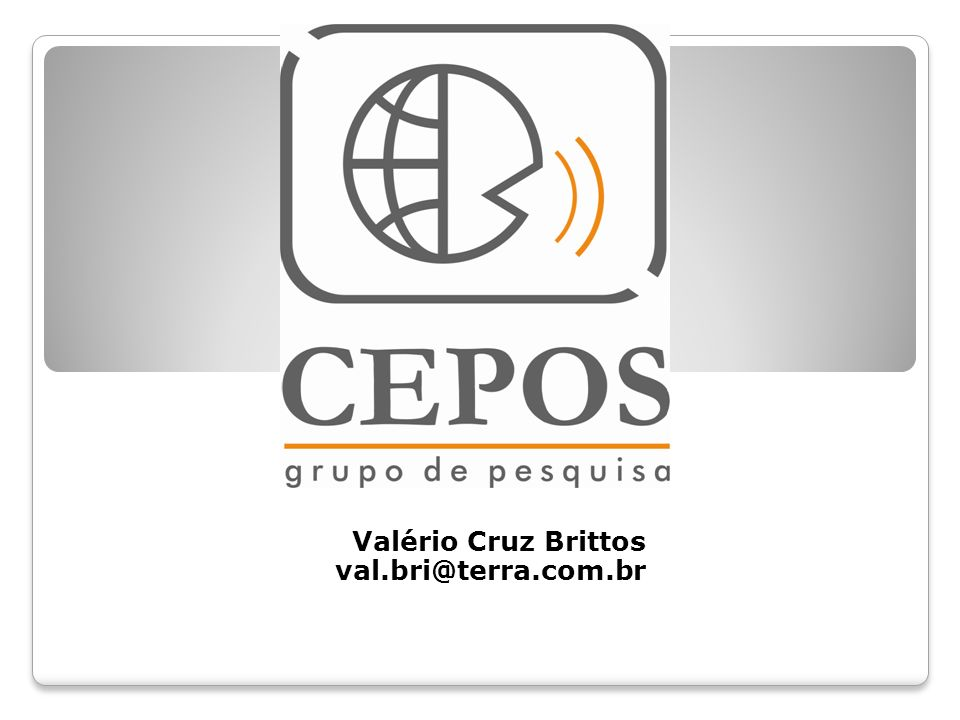 Valério Cruz Brittos val.bri@terra.com.br