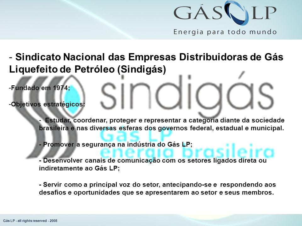 Gás LP - all rights reserved - 2008 Mercado...no comércio...