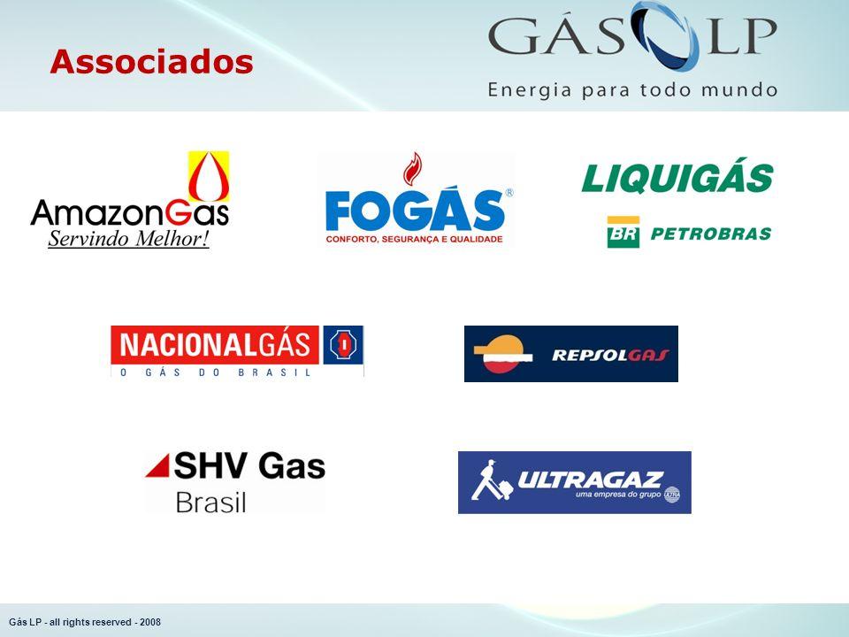 Gás LP - all rights reserved - 2008 Mercado...na indústria...