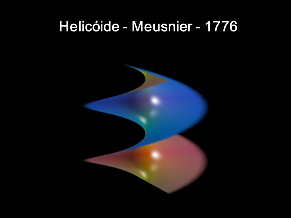 Helicóide - Meusnier - 1776