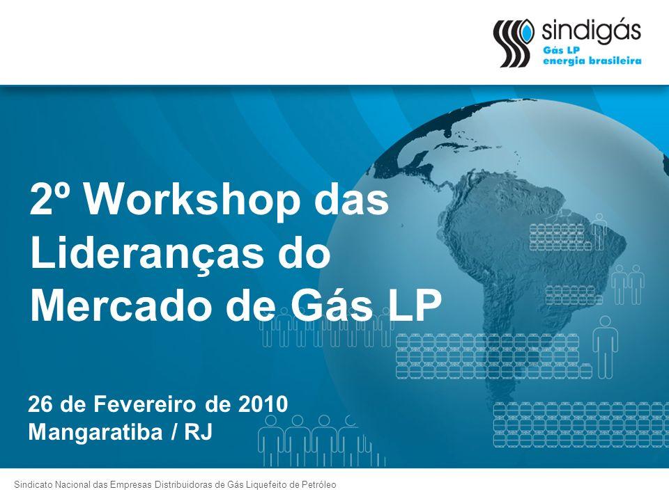 2º Workshop das Lideranças do Mercado de Gás LP Sindicato Nacional das Empresas Distribuidoras de Gás Liquefeito de Petróleo 26 de Fevereiro de 2010 M