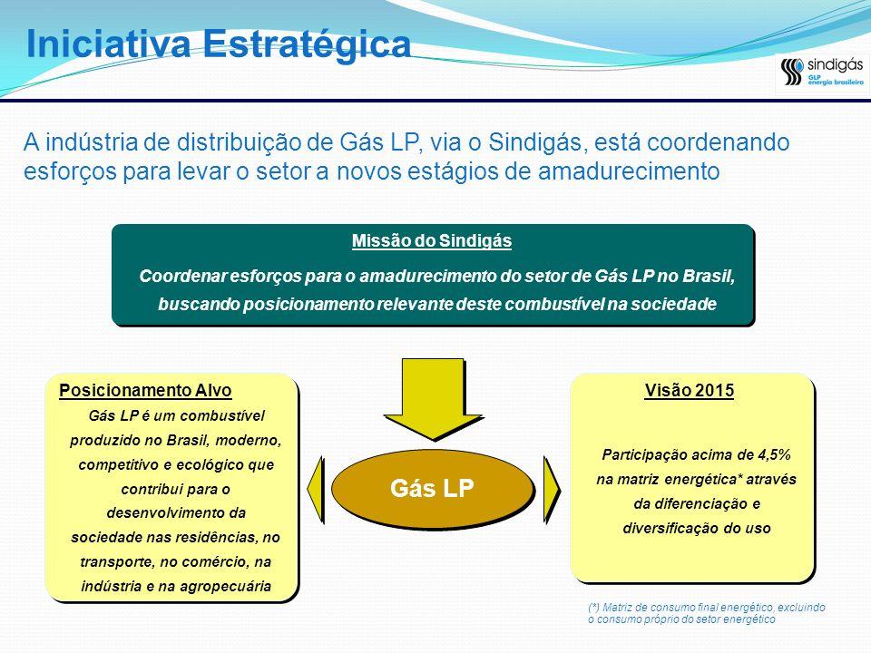 A indústria de distribuição de Gás LP, via o Sindigás, está coordenando esforços para levar o setor a novos estágios de amadurecimento Gás LP é um com