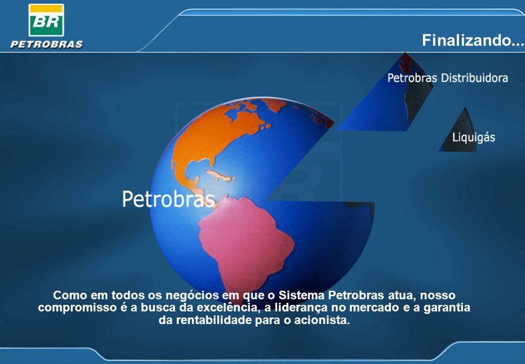 18 Finalizando... Como em todos os negócios em que o Sistema Petrobras atua, nosso compromisso é a busca da excelência, a liderança no mercado e a gar