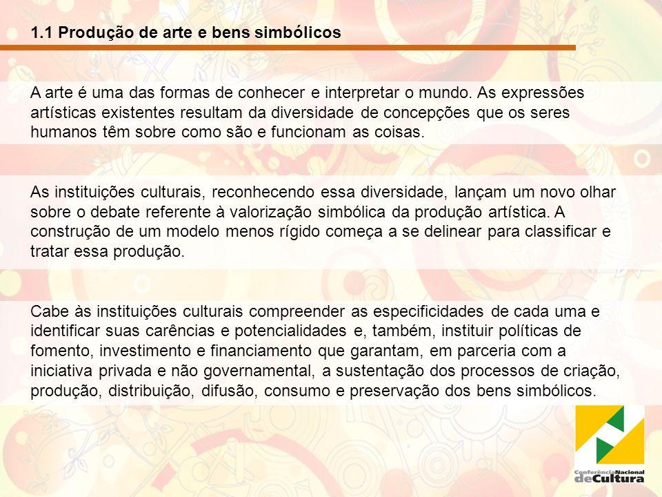 1.2 Convenção da Diversidade e Diálogos interculturais A Convenção sobre a Proteção e a Promoção da Diversidade das Expressões Culturais aprovada pela UNESCO em 2005 e já ratificada pelo Brasil, tem como ponto de partida o respeito mútuo e o reconhecimento da dignidade inerente a todas as culturas.