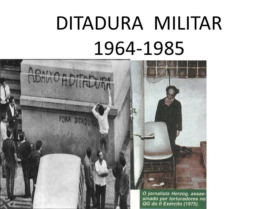 Em agosto de 1969 o presidente Costa e Silva sofre um derrame e é afastado da função, em seu lugar é instituída uma junta militar até que o novo presidente seja escolhido indiretamente pelas forças armadas.