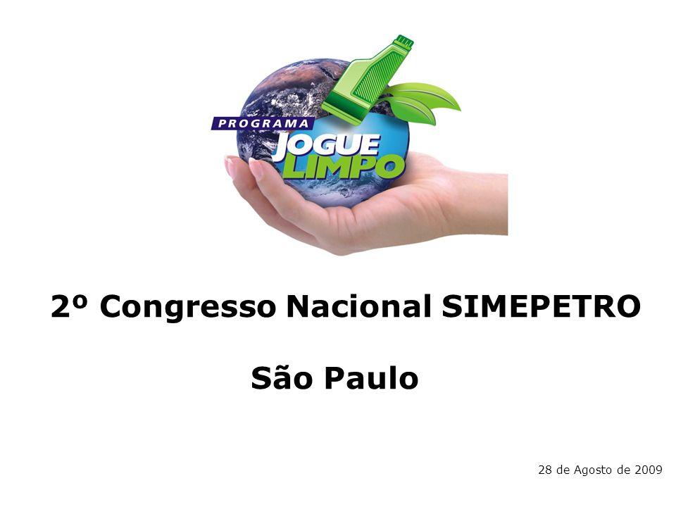 2º Congresso Nacional SIMEPETRO São Paulo 28 de Agosto de 2009