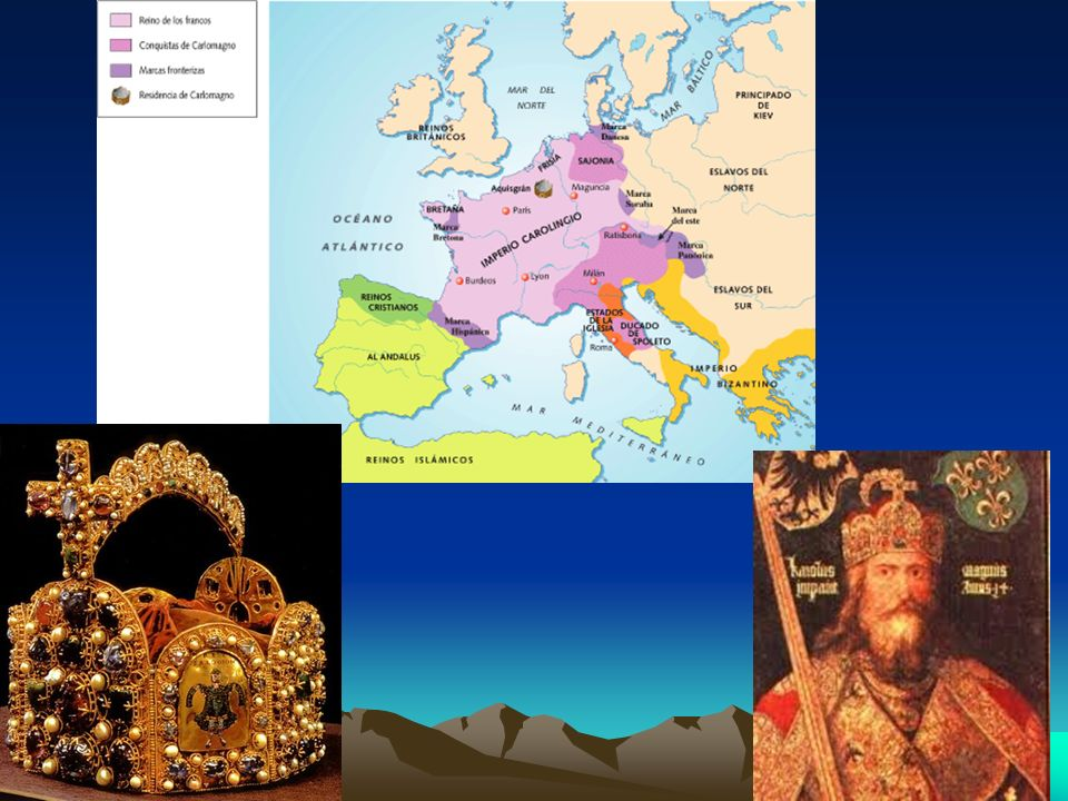 Após sua morte seu filho Luís I, o Piedoso, assumiu o poder, e reinou de 814 a 840.