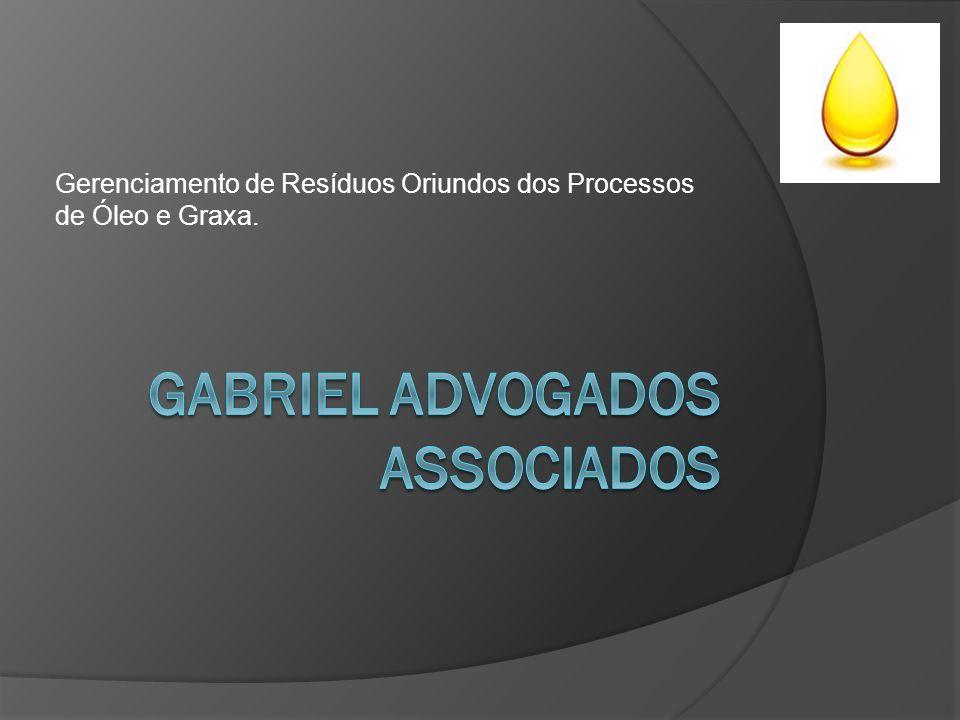 Gerenciamento de Resíduos Oriundos dos Processos de Óleo e Graxa.