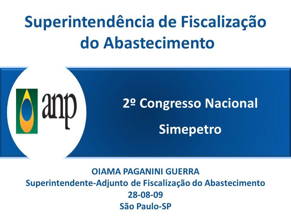 2º Congresso Nacional Simepetro Superintendência de Fiscalização do Abastecimento