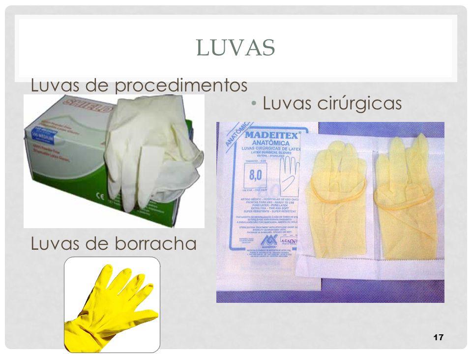LUVAS Luvas de procedimentos Luvas de borracha Luvas cirúrgicas 17