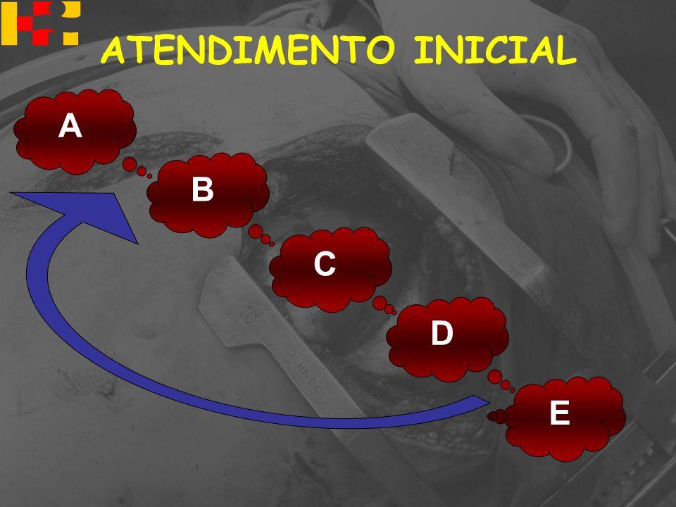 A B D E C ATENDIMENTO INICIAL