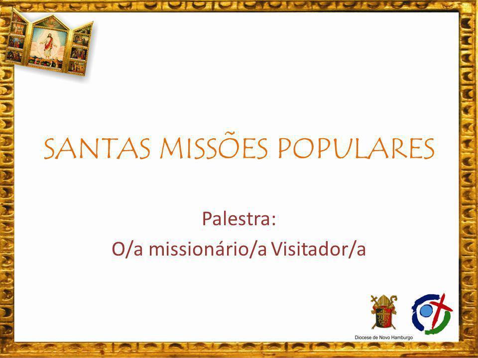 Referência: Missionários e Missionárias das Santas Missões Populares: Mosconi, Pe.
