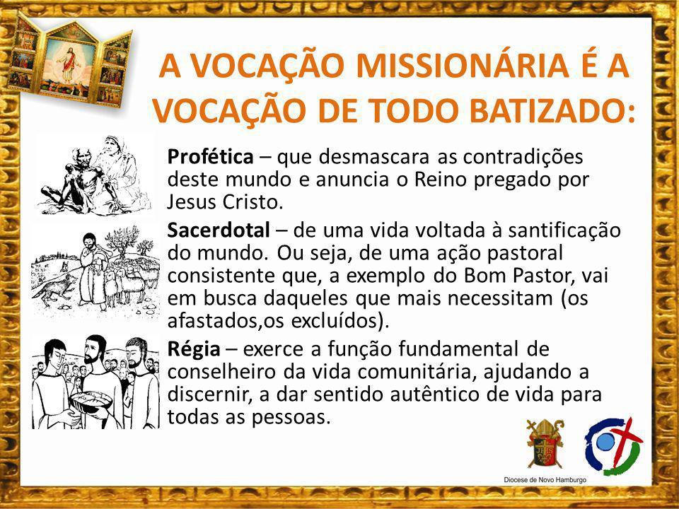 A Marca da Espiritualidade do Missionário é a CRUZ: Sinal do conflito, mas identidade fundante da realidade de quem quer anunciar o Ressuscitado: Jesus Vivo.