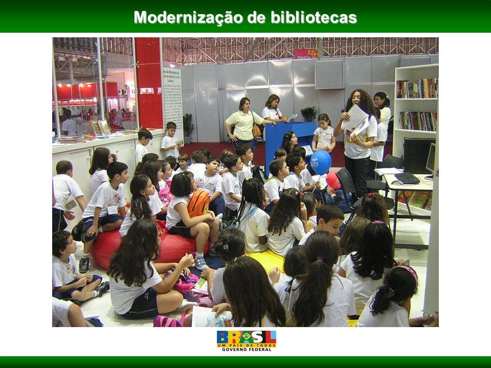 Modernização de bibliotecas