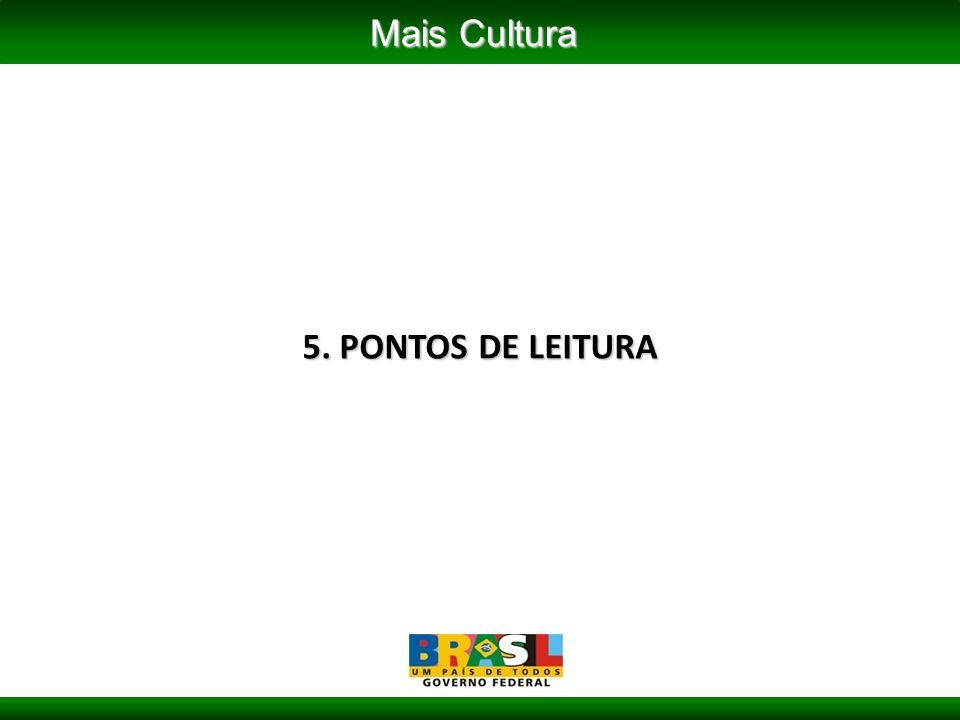 5. PONTOS DE LEITURA Mais Cultura