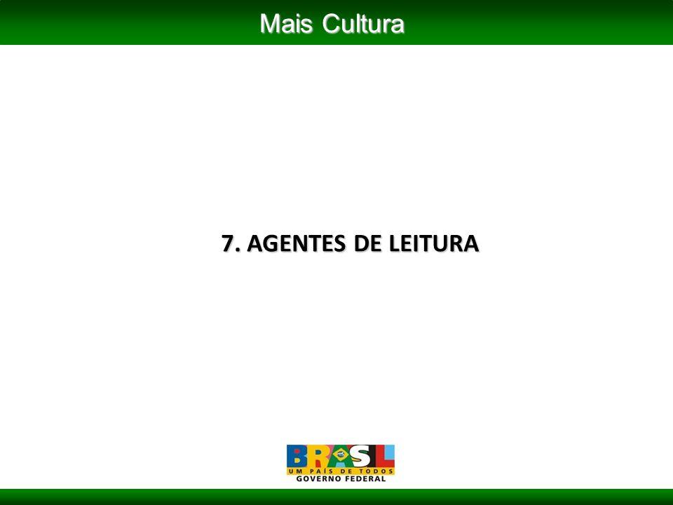 7. AGENTES DE LEITURA Mais Cultura