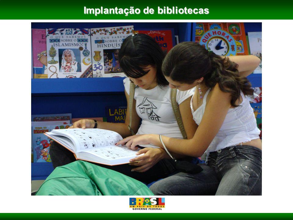 Implantação de bibliotecas