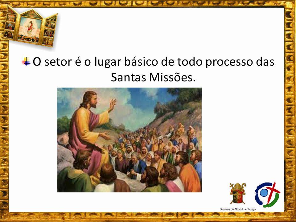 As visitas antecedem as Semanas Missionárias. Roteiro da Visita: 1)Saudação e Acolhida;