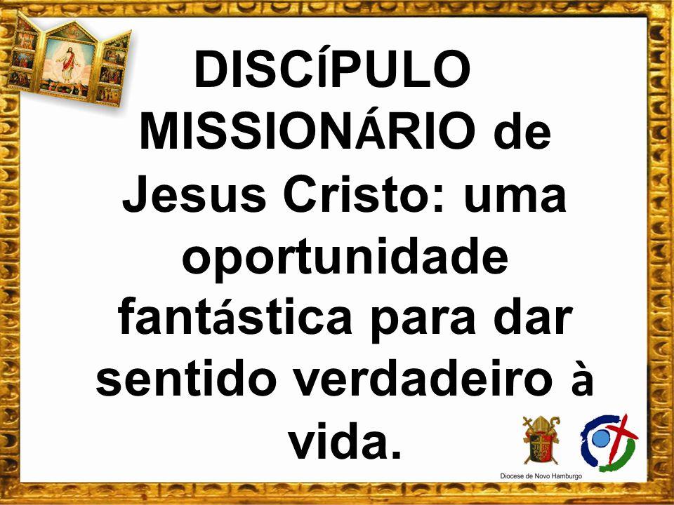 DISC Í PULO MISSION Á RIO de Jesus Cristo: uma oportunidade fant á stica para dar sentido verdadeiro à vida.
