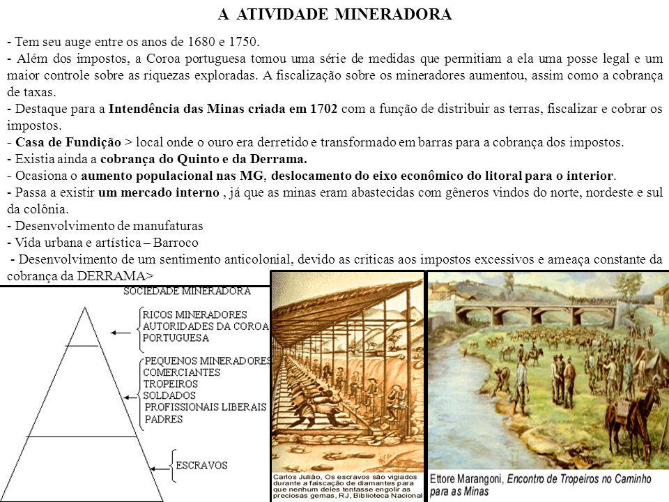 OS IDEAIS ILUMINISTAS NO BRASIL A INCONFIDÊNCIA MINEIRA / CONJURAÇÃO MINEIRA (1789) - Portugal vivia situação financeira ruim e via na exploração da colônia (Mercantilismo) a solução.