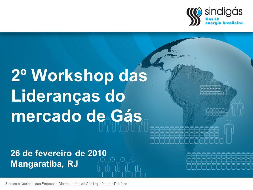 2º Workshop das Lideranças do mercado de Gás Sindicato Nacional das Empresas Distribuidoras de Gás Liquefeito de Petróleo 26 de fevereiro de 2010 Mang